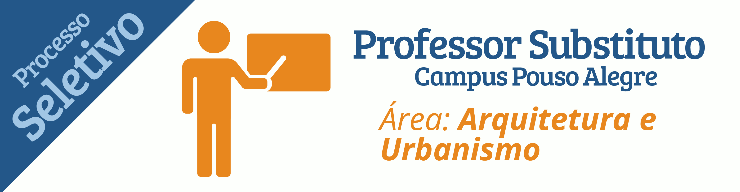 IFSULDEMINAS abre seleção para contratar professor substituto na área de Arquitetura e Urbanismo