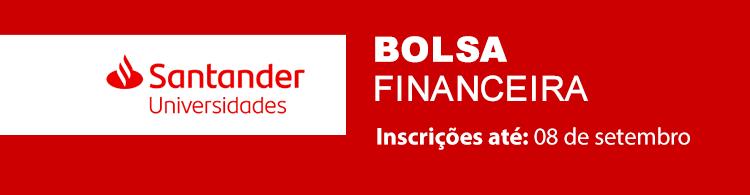 Alunos de Graduação e Pós-graduação poderão se inscrever em programa de bolsas do banco Santander.