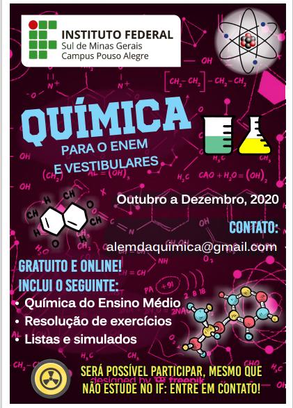 cartaz quimica
